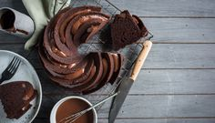 Chocolate Sour Cream Bundt