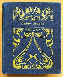 Cover of 'Verzen' by Guido Gezelle