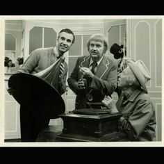 Mr. Rogers, Captain Kangaroo and Mr. Green Jeans