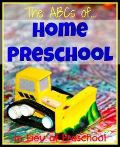 Para madres que no llevan a sus hijos a la guardería. Muchas actividades e ideas para trabajar con ellos.