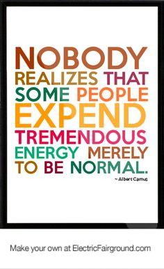 Albert Camus - although clearly someone realizes it...