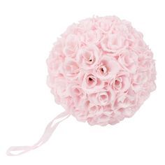 9.84 Inch Rose Pomander Flower Balls for Wedding Centerpieces Decorations Multicolour (Pink) *** Click image to review more details.