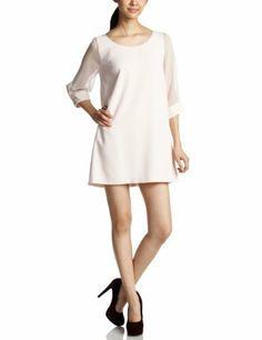 Amazon.co.jp: (スナイデル)snidel シースルースリーブAラインワンピース: 服&ファッション小物