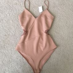 New nude bodysuit ! New with tag! Very beautiful and very senzual! NOT ZARA BRANDoffers accepted Zara Tops Crop Tops