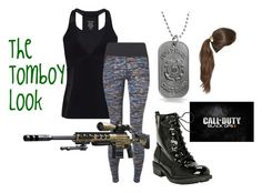 Military Girl by guinandgrace on Polyvore featuring Sweaty Betty, Bling Jewelry, Tasha and TheTombByLook
