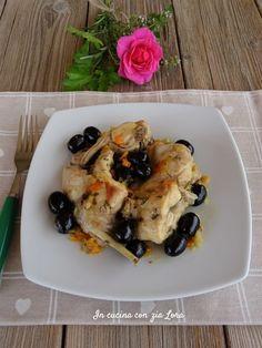 Come fare il coniglio in padella saporito No Salt Recipes, Romanian Food, Carne, Roast Beef, Zia, Risotto, Food And Drink, Chicken, Mamma