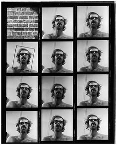 Bid now on Untitled (Self-Portrait Contact Sheet) by Chuck Close. View a wide Variety of artworks by Chuck Close, now available for sale on artnet Auctions. Fine Art Photography, Portrait Photography, Polaroid, Chuck Close, Contact Sheet, True Art, Ansel Adams, Black N White Images, Photo Booth