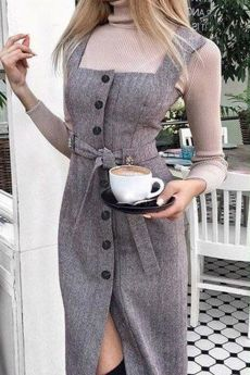 Really like these latest fashion trends 1749 How to wear fall fashion outfits with casual style trends Kem dưỡng ngày hada labo koi gokujyun 7 in 1 Nhật Bản Pretty look for autumn or winter Fashion Mode, Mod Fashion, Hijab Fashion, Korean Fashion, Fashion Dresses, Fashion Looks, Womens Fashion, Mode Outfits, Fall Outfits