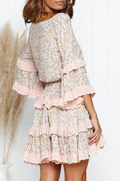 Φόρεμα RALIZA - Κοντά φορέματα   Ivet.EU Dresses With Sleeves, Long Sleeve, Aesthetics, Shopping, Fashion, Moda, Sleeve Dresses, Long Dress Patterns, Fashion Styles