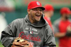 St. Louis Baseballs MAN OF THE YEAR!!  Congrats to you Yadi.  :))
