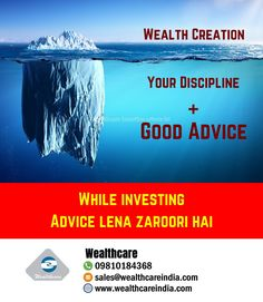 Wealth Creation Is Combination Of Discipline And Good Advice   Adhere Advice and Build Wealth   #wealthmanagement #advicematters #discipline #buildwealth #createwealth #financialadvice  #financialplanning #investmentservices #financialfreedom #securefuture #futuregoals  #financialadvisor  #investmentplanning #buildthefuture #savingsgoals #fundsmanagement #servicesector #futureplanning   #success #makemoremoney  #wealthmindset Wealth Management, Management Company, Goal Planning, Financial Planning, Certified Financial Planner, Wealth Creation, Future Goals, Make More Money, Good Advice