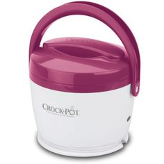 """""""The Crock-Pot Lunch Crock ($20) makes us so very happy! We've got nothing against the breakroom microwave, per se, but warming our food slowly and safely on our desks yields much more flavorful lunches. Our pasta leftovers don't congeal and separate, soups warm thoroughly, and we don't have to wait in line to nuke."""""""