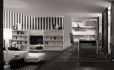 Black and White Modern Home Decor  Tips for Modern Home Decoration