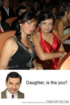 Mr. Bean's long lost daughter