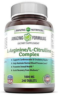 Amazing Formulas' L-arginine / L-citrulline Complex (1000 Mg - 240 Tablets) Tag a friend who would love this! $ FREE Shipping Worldwide Get it here ---> http://herbalsupplements.pro/product/amazing-formulas-l-arginine-l-citrulline-complex-1000-mg-240-tablets/ #herbalsupplements #supplements #health #herbs