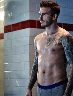 David Beckham in new H ad campaign