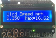 Arduino Wind Speed Meter Anemometer Project - Geeky Gadgets