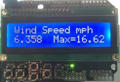 Arduino Wind Speed Meter Anemometer