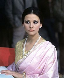 Claudia Cardinale (1938- ) - an Italian Tunisian film actress. She appeared in some of the most acclaimed European films of the 1960s and 1970s, mainly Italian or French, but also in several English films.From 1963, Cardinale became known in the United States and Britain
