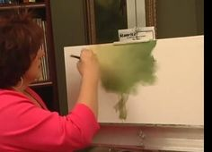 Here's a paint medium that will change the way you look at painting with acrylics. With Extender, your acrylic paint blends easily and performs just like an oil paint. Spring Art Projects, Art Projects For Teens, Easy Art Projects, Acrylic Paint Mediums, Acrylic Painting Techniques, Art Techniques, Oil Painting Background, Painting Wallpaper, World Map Art