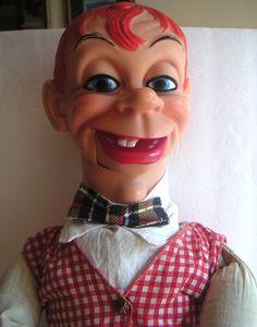 Vintage Ventriloquist Doll, Dummy - Mortimer Snerd