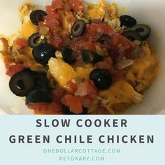 Slow Cooker Green Ch