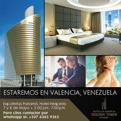 ¡Valencia, Venezuela!  Asesórese con nosotros y conozca todo sobre Hotel Las Américas Golden Tower Panamá y los beneficios que obtiene al invertir.