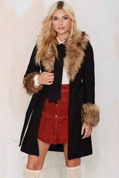 Nasty Gal Hazel Wool Coat - Clothes | Coats | Jackets + Coats