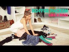 So packst du deinen Koffer richtig – Mehr Platz, weniger Knitterfalten! | Stylight