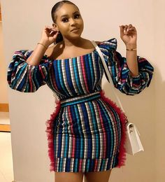 African print mini dress-Ankara dress-Ankara pencil dress-African clothing -Ankara clothing -Women c African Fashion Ankara, Latest African Fashion Dresses, African Print Fashion, Africa Fashion, African Style, African Beauty, African Women, Short African Dresses, Ankara Long Gown Styles