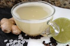 <p>This is an easy to make Ayurvedic Digestive Drink. Ginger acts wonders to fire up our digestive system.</p>