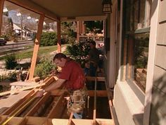 The first phase of a front-porch restoration is to complete construction of the porch floor, including support and decking. Here's how to do it.