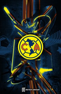 #América #LigraficaMX 7/04/15CTG Dragon Ball, Reggae, Body Painting, Fifa, Grande, Wallpapers, Logo, Soccer, Street Art Graffiti