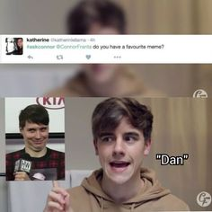 The Meme Princess that is Dan Howell (vid: This Rumor Is Ridiculous -Connor Franta)