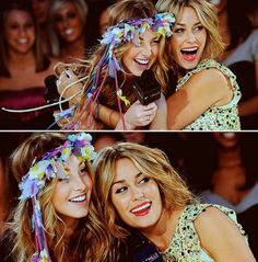 Whitney Port and Lauren Conrad