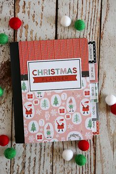 Christmas Planners with Free Printables - Christmas Planner Free, Christmas To Do List, Holiday Planner, Christmas Planning, Christmas Post, Family Christmas, Winter Christmas, Christmas Ideas, Christmas Scrapbook Paper