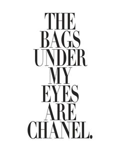 Quote / Chanel