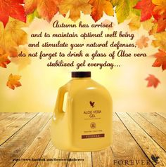 Build a Natural Defense Against Flu and Cold This Winter. Autumn has arrived and to maintain optimal well being and stimulate your natural defenses, do not forget to drink a glass of aloe vera stabilized gel everyday... https://www.facebook.com/healthybody.sharronatilla