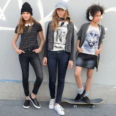 T-shirt de mangas curtas, estampado bolas, com gola R Teens | La Redoute