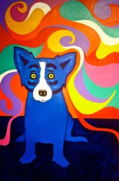 I feel Good - Blue Dog George Rodrigue