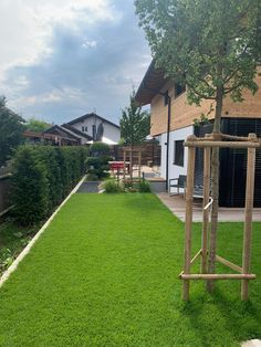 Haus Haching Arch, Sidewalk, Outdoor Structures, Garden, Home, House, Homes, Longbow, Garten