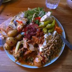 plato-combinado-comida-vegan-Hermitage