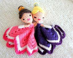 Princess Lovey Crochet Amigurumi Pattern PDF INSTANT par AlaSascha