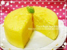 ふわっ♡しゅわっ♡簡単スフレチーズケーキ