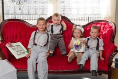 Wedding, kids, vintage