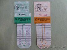 Bonobuses Empresa Municipal de Transportes de Madrid (EMT) - Años 80 - Wendy Hamburguers
