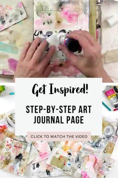 In this video, I share a flip through of the first ten days of The 100 Day Project and answer questions I have received about the art papers I have created. I am also taking one art paper and using it to create an art journal page in my Salvaged Journal.  Come along and be inspired!! Art Journal Pages, Junk Journal, Art Journaling, Collage Video, Art Journal Inspiration, Journal Ideas, Tea Bag Art, Acrylic Painting Techniques, Art Journal Techniques