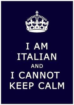 I am italian...