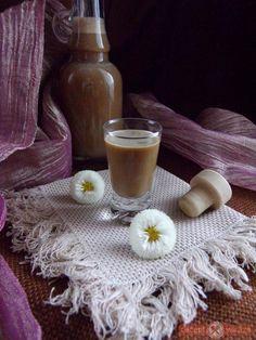 Cappucino likőr Crochet Necklace