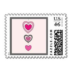 From the Heart Valentine's Day Postage Stamp New!